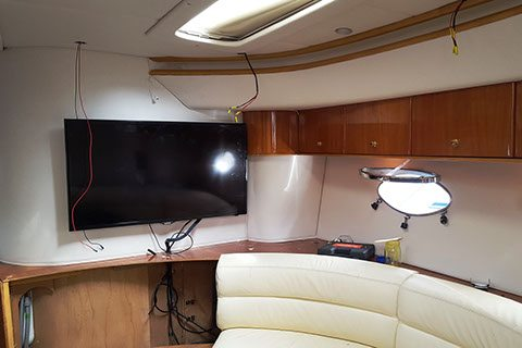 After: Princess v52 sun lounge upholstery