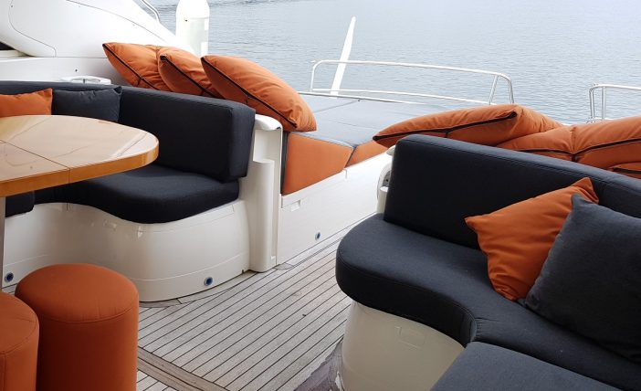 Princess 65 - Outdoor saloon stern