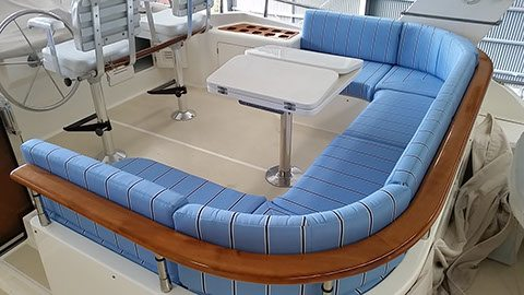 Cockpit upholstery