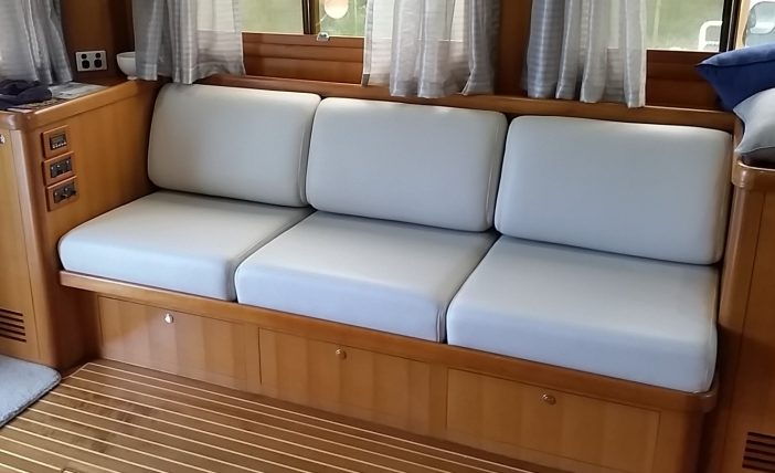 Saloon upholstery