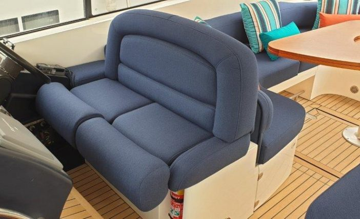 Pilot seat upholstery
